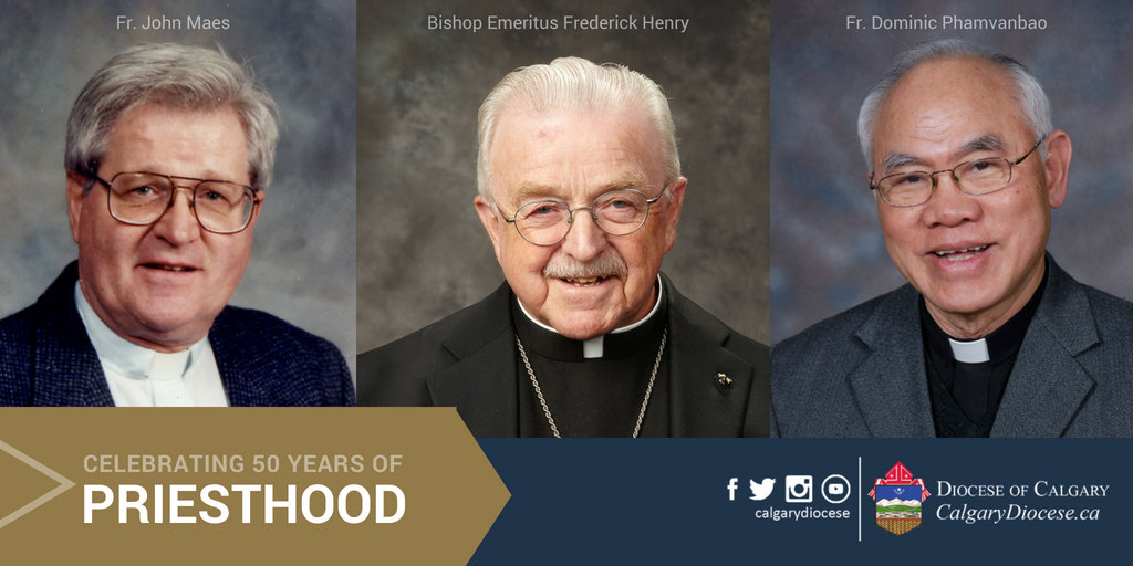 Celebrating 50 Years of Priesthood