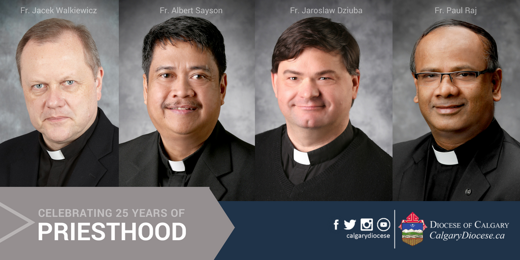 Celebrating 25 Years of Priesthood